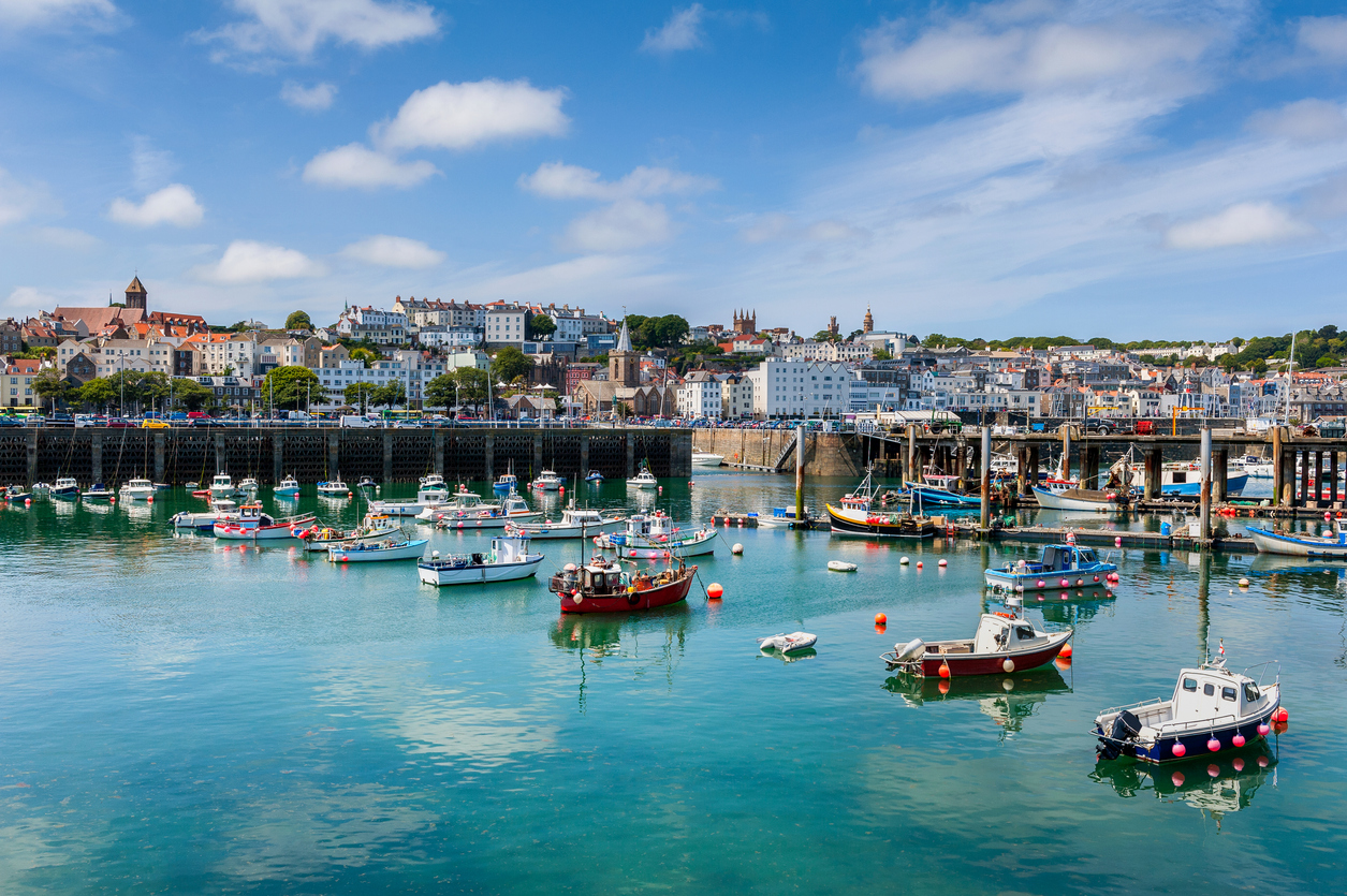 What makes the Channel Islands an international financial centre?